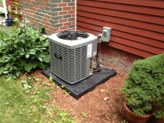 Call Olde Town Oil today to have your A/C unit repaired or serviced.
